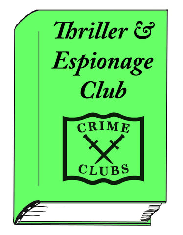 Thriller & Espionage Club for Monthly Signed Titles