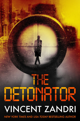 Vincent Zandri - The Detonator - Signed