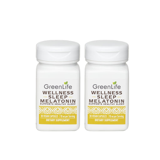 Wellness Sleep Melatonin 10 mg (Buy 1 Free 1)