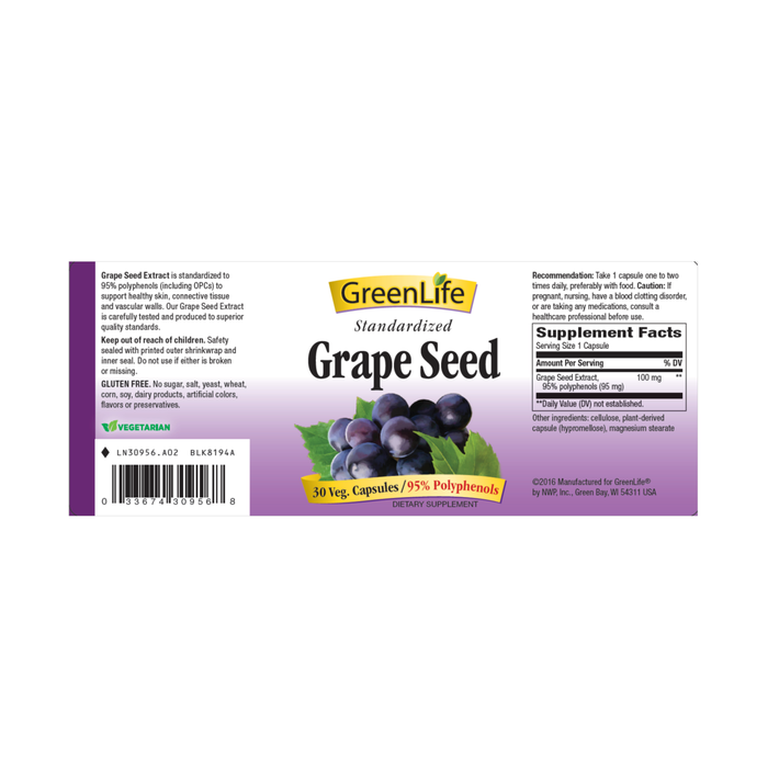 Grape Seed - GreenLife Singapore