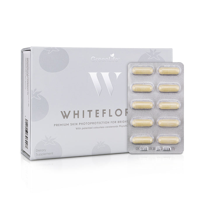 WhiteFloral with Patented Colourless Carotenoids IBR-TCLC