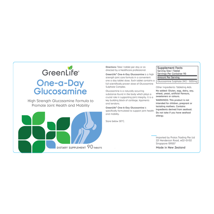 One-a-Day Glucosamine - GreenLife Singapore