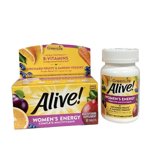 Alive Women's Energy Multivitamin (50 tablets)