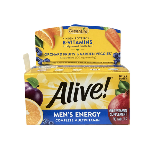 Alive Men's Energy Multi Vitamin Multi Minerals (50 tablets)