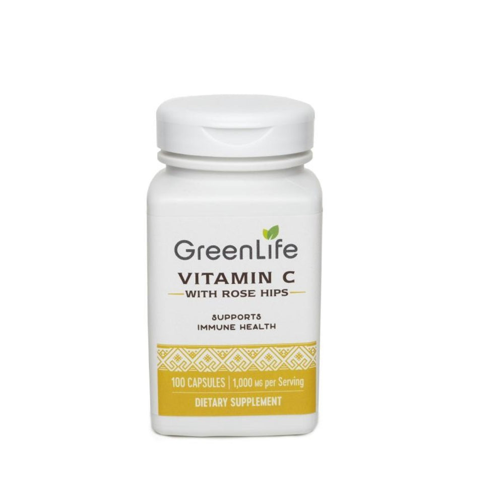 Vitamin C 1000 w/ Rose Hips - GreenLife Singapore