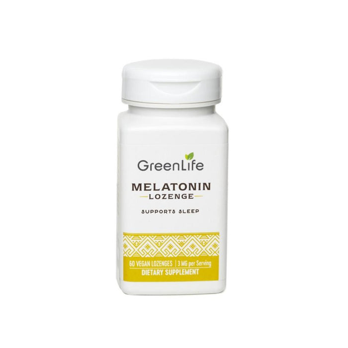 Melatonin Lozenge 3mg Potency - GreenLife Singapore