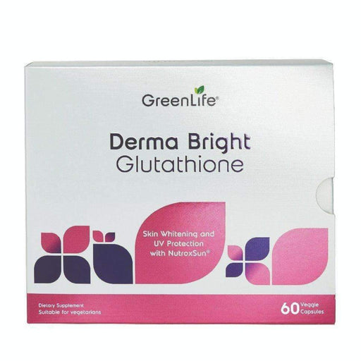 Derma Bright Glutathione - Skin Whitening - GreenLife Singapore