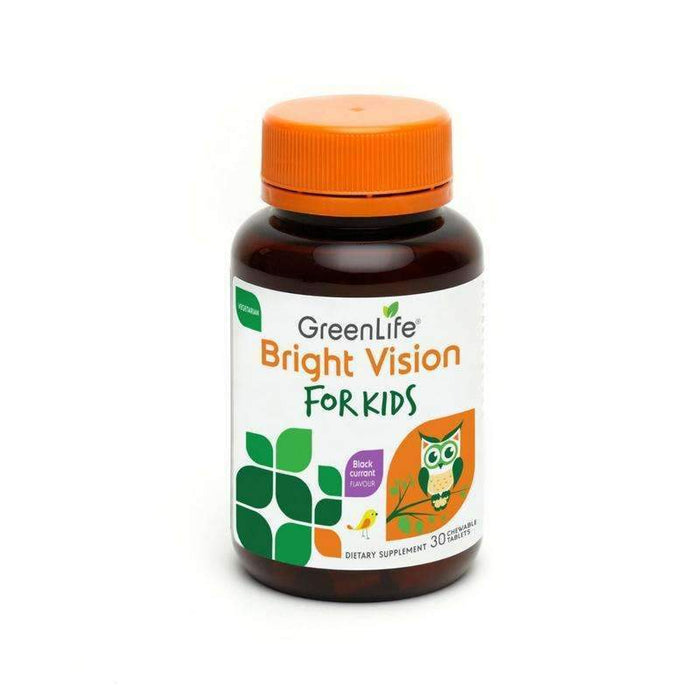 GreenLife Bright Vision for Kids + Probiotic Chewables For Kids [Bundle] - GreenLife Singapore