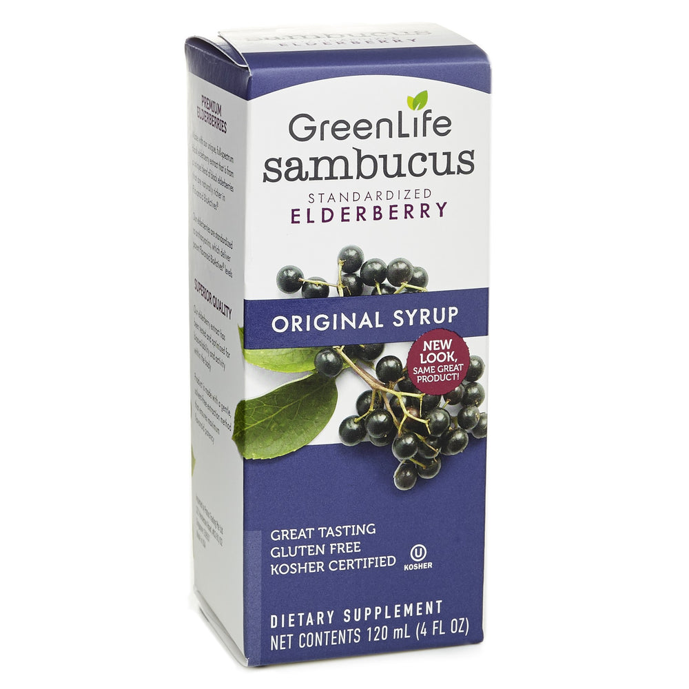 Sambucus Original Syrup - GreenLife Singapore