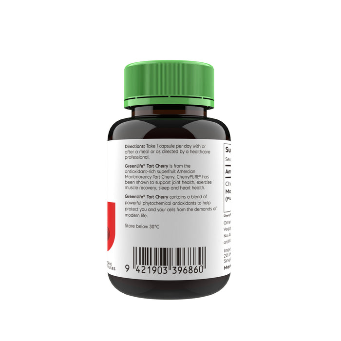 Tart Cherry with CherryPure - GreenLife Singapore