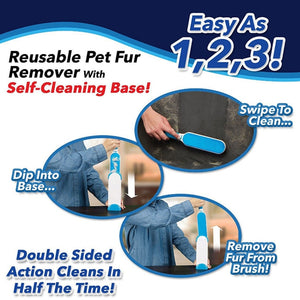 Fur Wizard Cleaning Brush