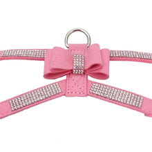 Load image into Gallery viewer, Rhinestone Collar Leather Leash