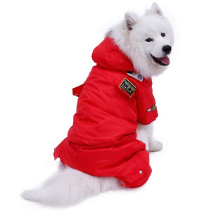 Protective Hooded Jacket Suit