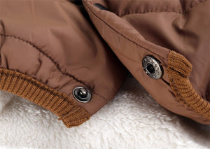 Winter Warm Jacket with Button