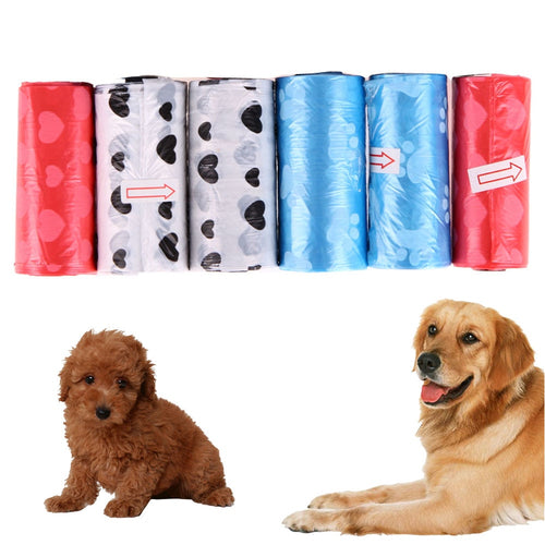 6pcs/lot Dog Poop Bag