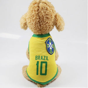 Breathable Soccer Jersey For Small, Medium And Large Dogs