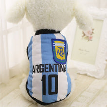 Load image into Gallery viewer, Breathable Soccer Jersey For Small, Medium And Large Dogs