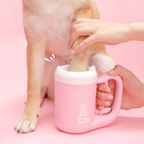 Silicone Brush Paw Washer