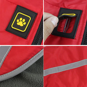 Waterproof warm Large Dog Jacket
