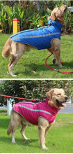 Load image into Gallery viewer, Waterproof warm Large Dog Jacket