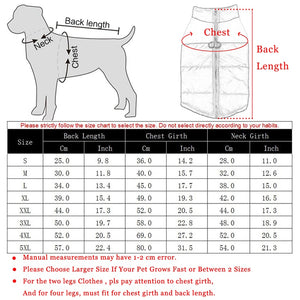 Dog Waterproof Pet Vest Jacket For Small Medium Large Dogs