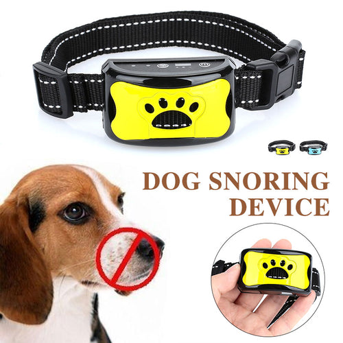 Humane Anti-Bark Vibration or Shock Dog Training Collar