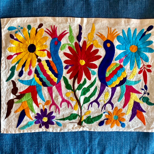 Mexican Collection Otomi Embroidery Panel
