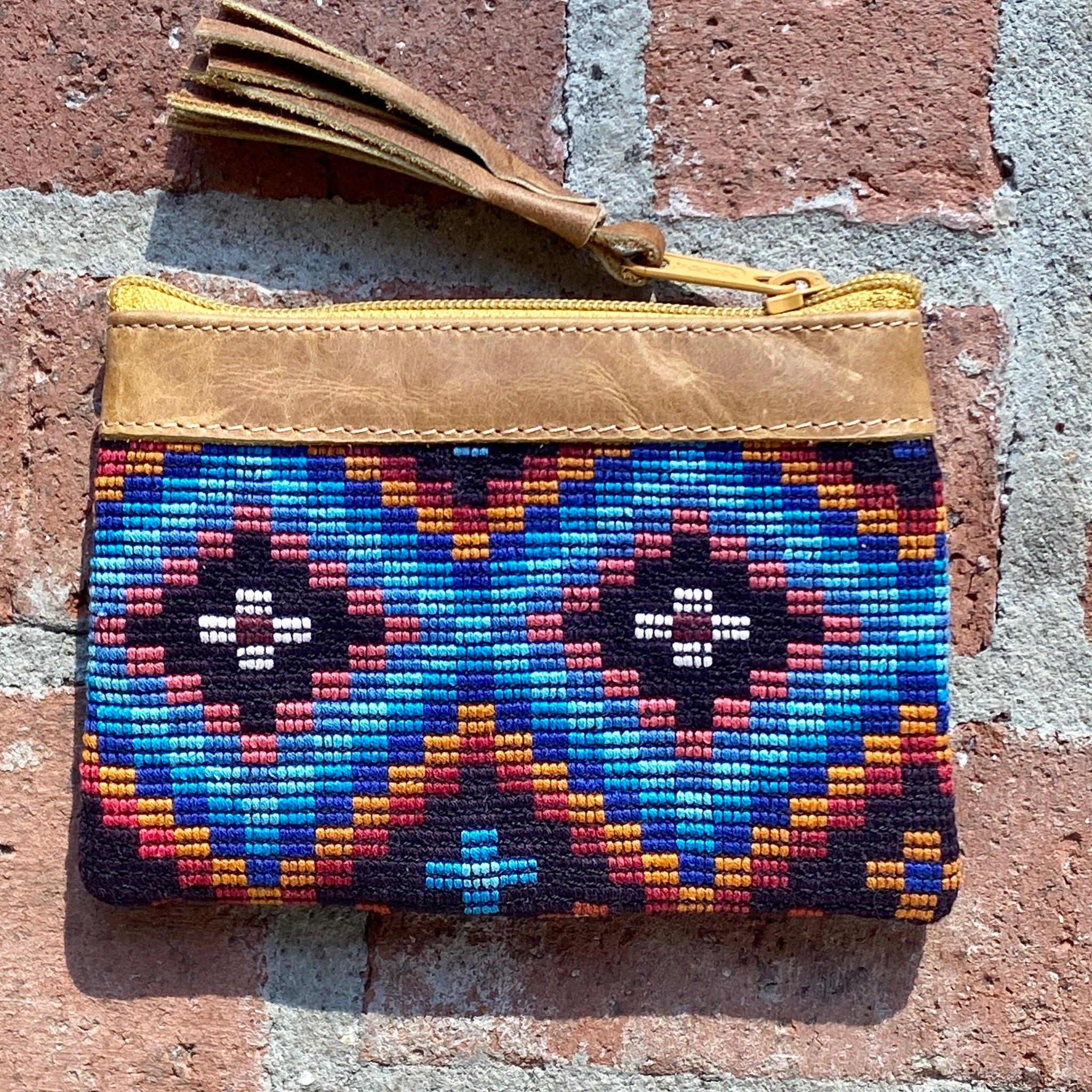 "Huipil Coin Purse 6"" x 4"""