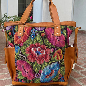 Vintage Floral and Cafe Xela Leather CDB