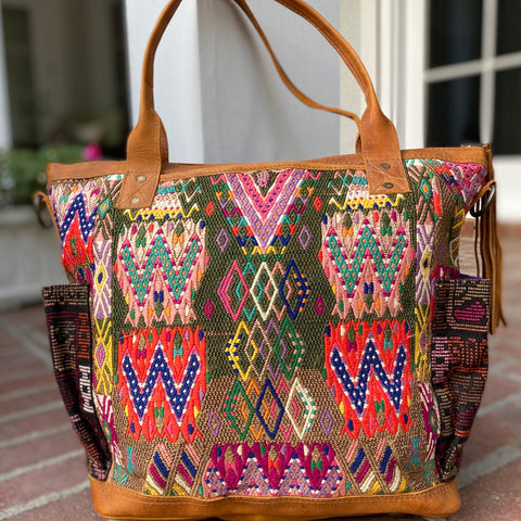 Medium Cinnamon Collection Convertible Day Bag