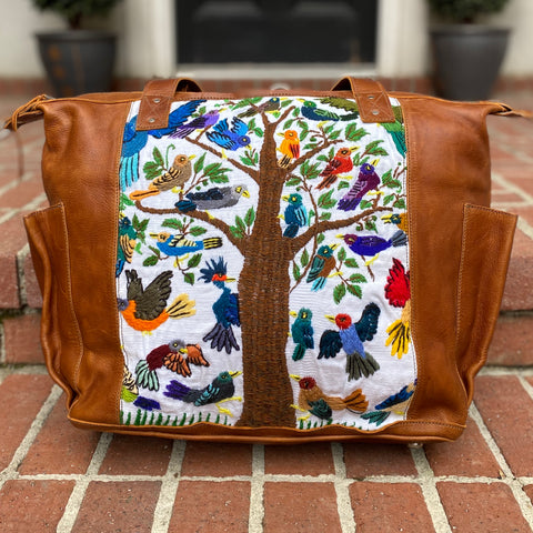 """Independence Collection"" Quetzal and Friends Convertible Day Bag"