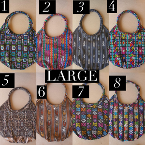 Pre-Sale Large Reversible Guatemalan Beach Bag