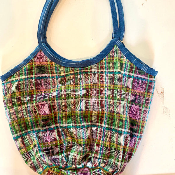 Beach Bag made with the finest Guatemalan Corte