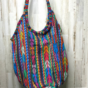 Large Reversible Guatemalan Beach Bag