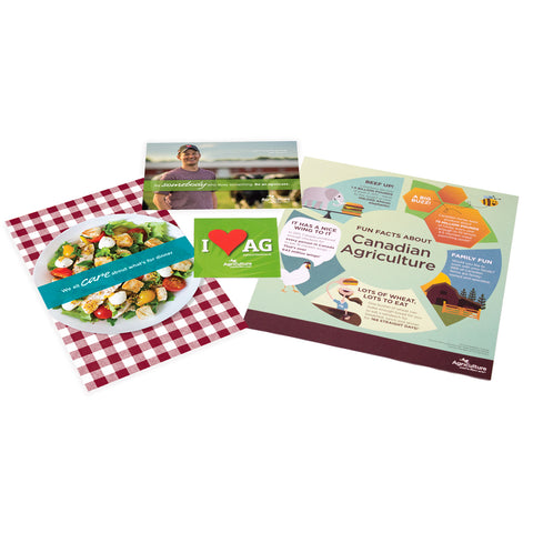 Ag Audience - Ag Event Kit 1 (for group of 50)