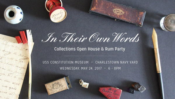 In Their Own Words: Collections Open House & Rum Party