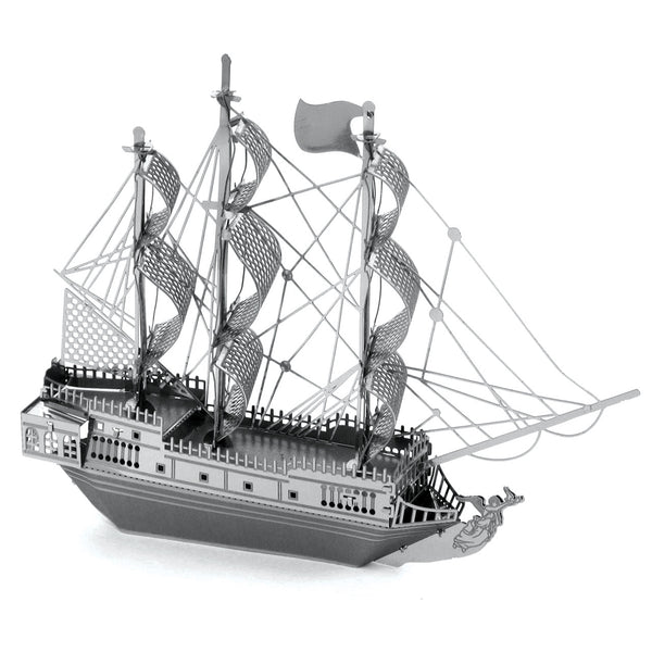 Black Pearl Metal Earth Model
