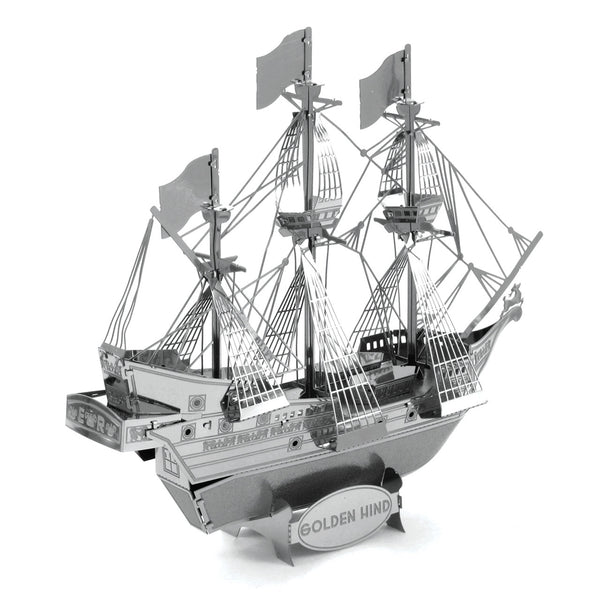 Golden Hind Metal Earth Model