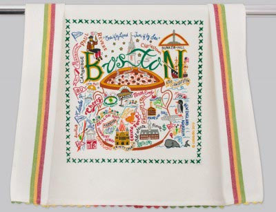 Boston Tea Towel