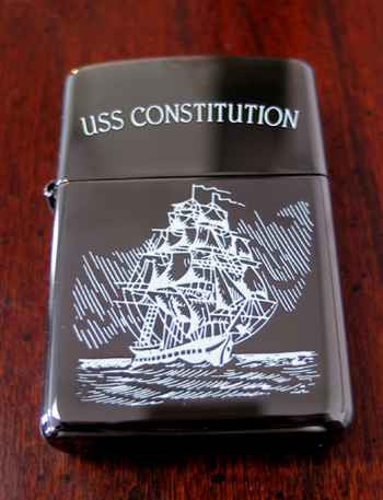 USSC Black Ice Zippo Lighter