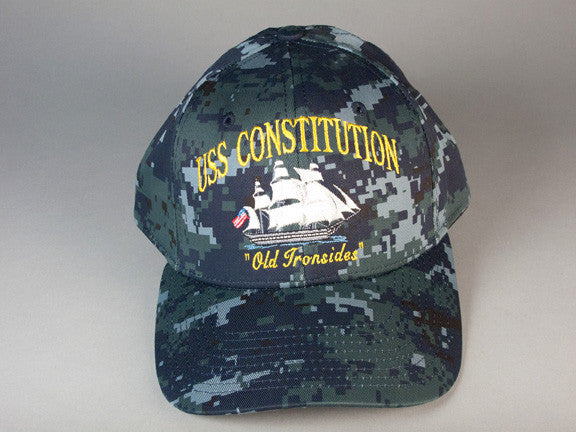 Digital Camouflage Constitution Ball Cap