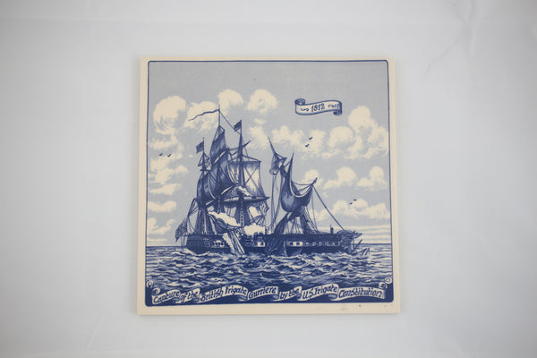 USS Constitution vs. HMS Guerriere Trivet