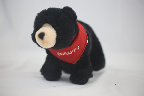 Scrappy the Black Bear Plush