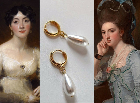 Pearl Earrings Regency