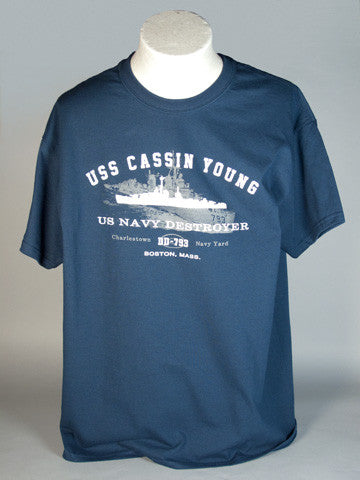 USS Cassin Young T-Shirt