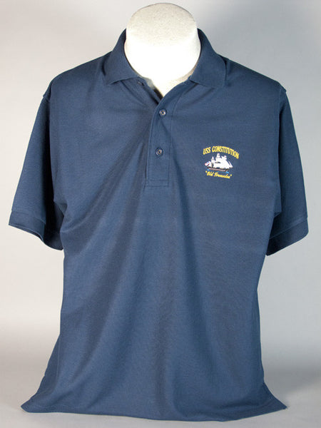USS Constitution Polo Shirt