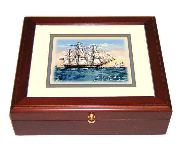 USS Constitution Mini Desk Box