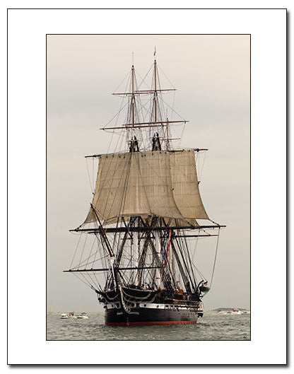 USS Constitution Under Sail, August 19, 2012