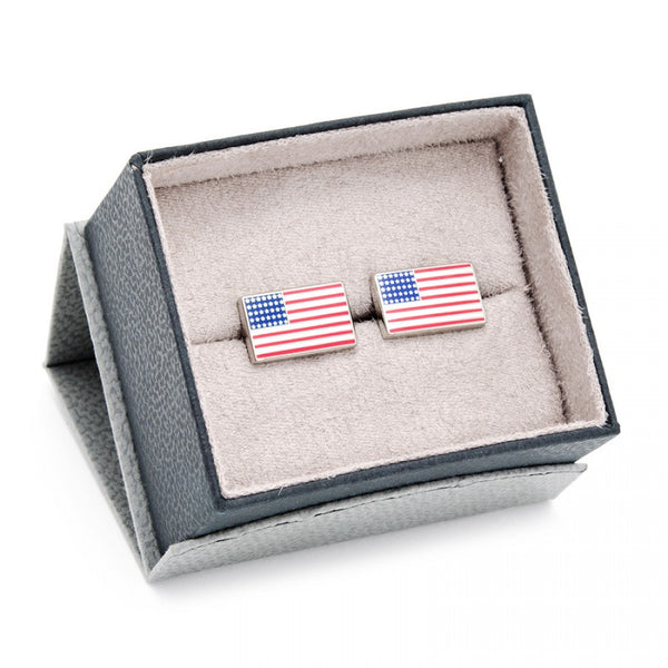 Old Glory Flag Cufflinks