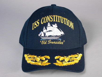 Double Oak Leaf Cluster Constitution Ball Cap